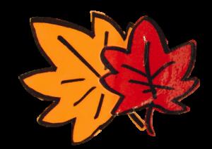 紅葉のPOP