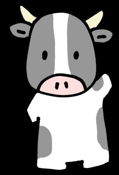 21丑年 60秒で描ける 超簡単かわいい牛のイラストの描き方 すごはん たのしごと